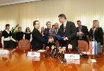 Signing of the Cooperation Agreement between the Ministry of Interior and the Judges Web